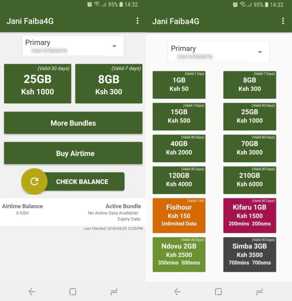 Jani Faiba4G Interface