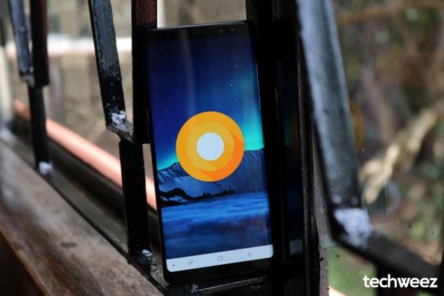 Samsung Galaxy Note 8 Oreo