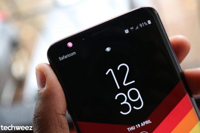 Samsung Galaxy S9 Intelligent Scan