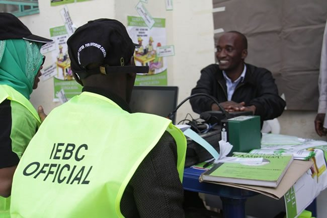 IEBC Official