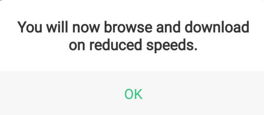 Safaricom Data Save Enabled