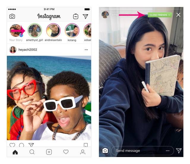 Instagram Users To Start Creating Cliques With This New Stories Feature