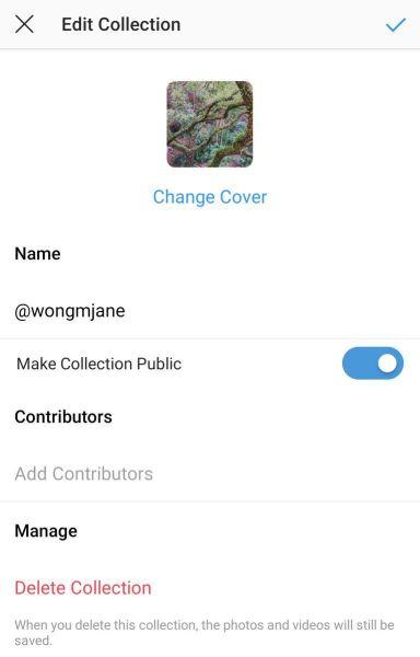 Instagram Public Collection