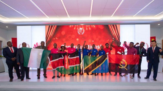 FOUR FINALIST TEAMS-ICT Competition Regional Finals
