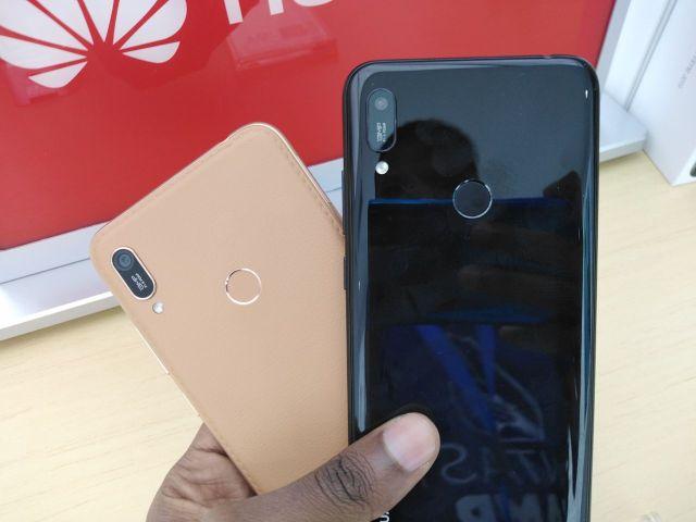 Huawei Y6 Prime 2019 camera and fingerprint sensor