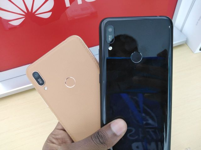 Huawei Y6 Prime 2019 camera and fingerprint sensor