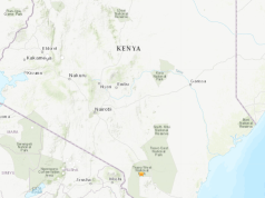 kenya earthquake social media