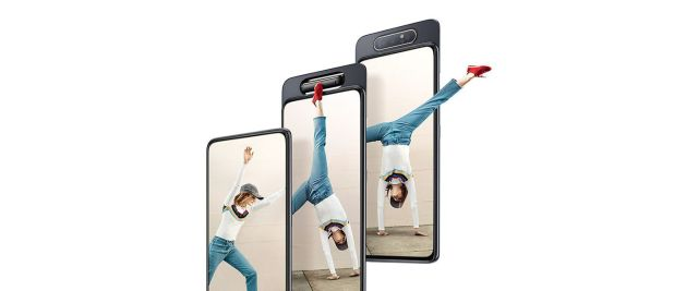samsung announces galaxy A80
