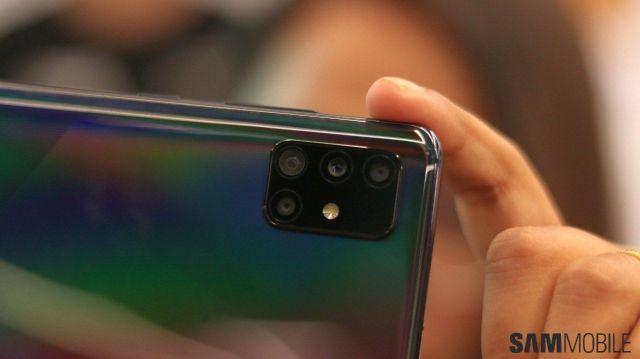 Samsung Galaxy A51 cameras