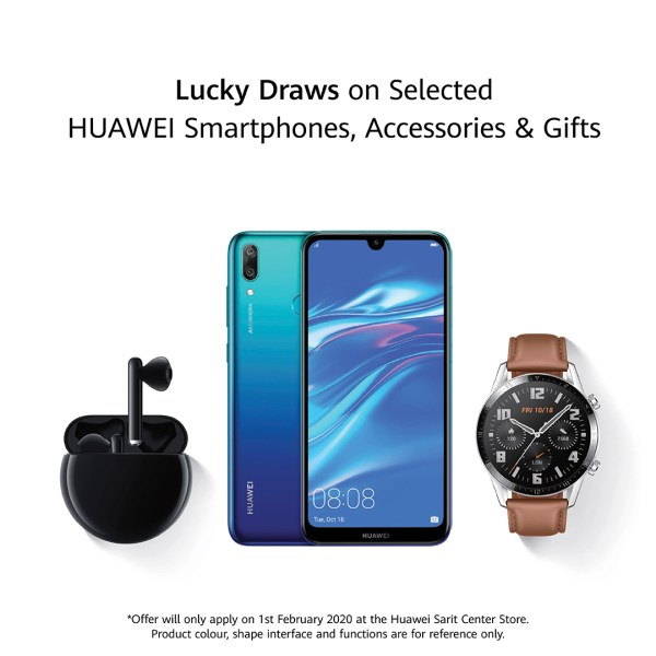 Huawei Lucky Draws