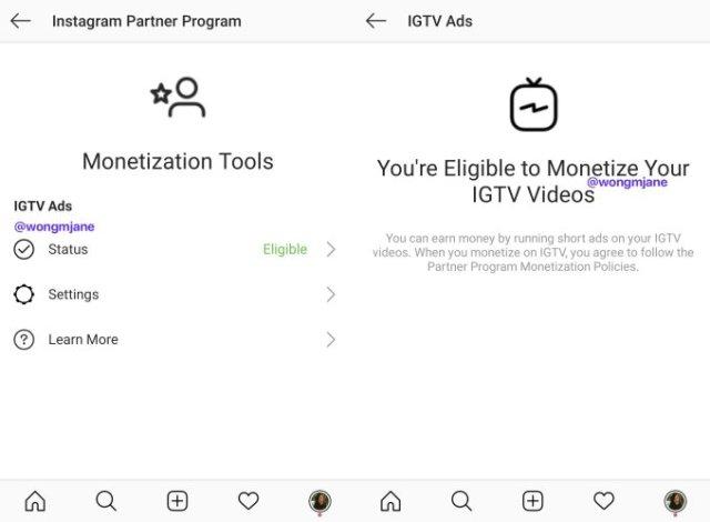 IGTV Partner Program