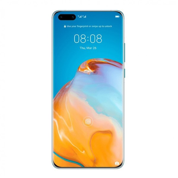 Huawei P40 Fingerprint scanner
