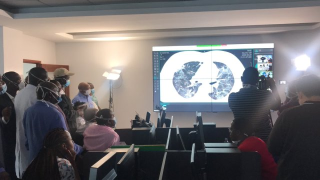 kenyatta national hospital diagnostics and reporting centre