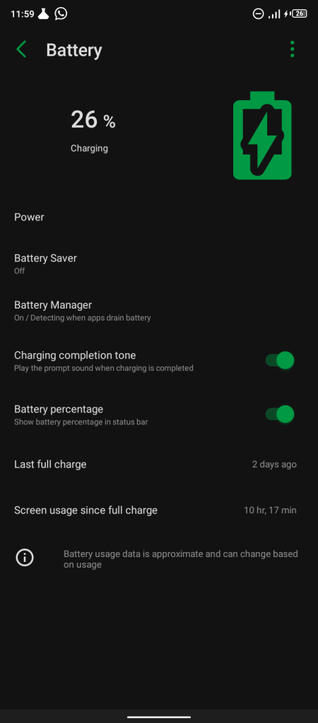 Infinix Hot 9 Play Battery Life