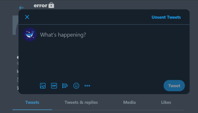 Unsent Tweets