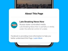 facebook labelling state controlled media