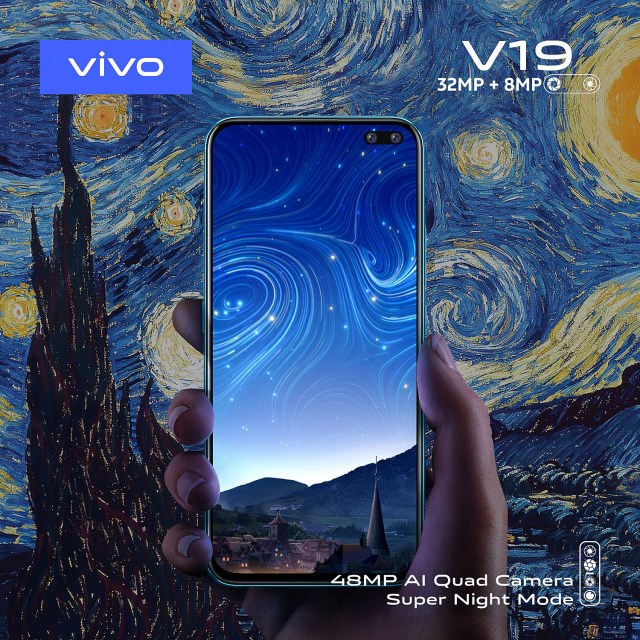 vivo V19 Super Night Mode