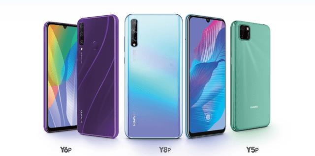 Huawei Y series smartphones