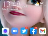 Waithira Kunene First Homescreen