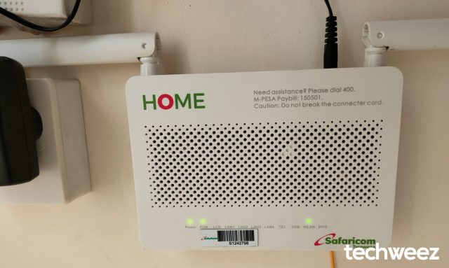 Safaricom Home Fibre Router