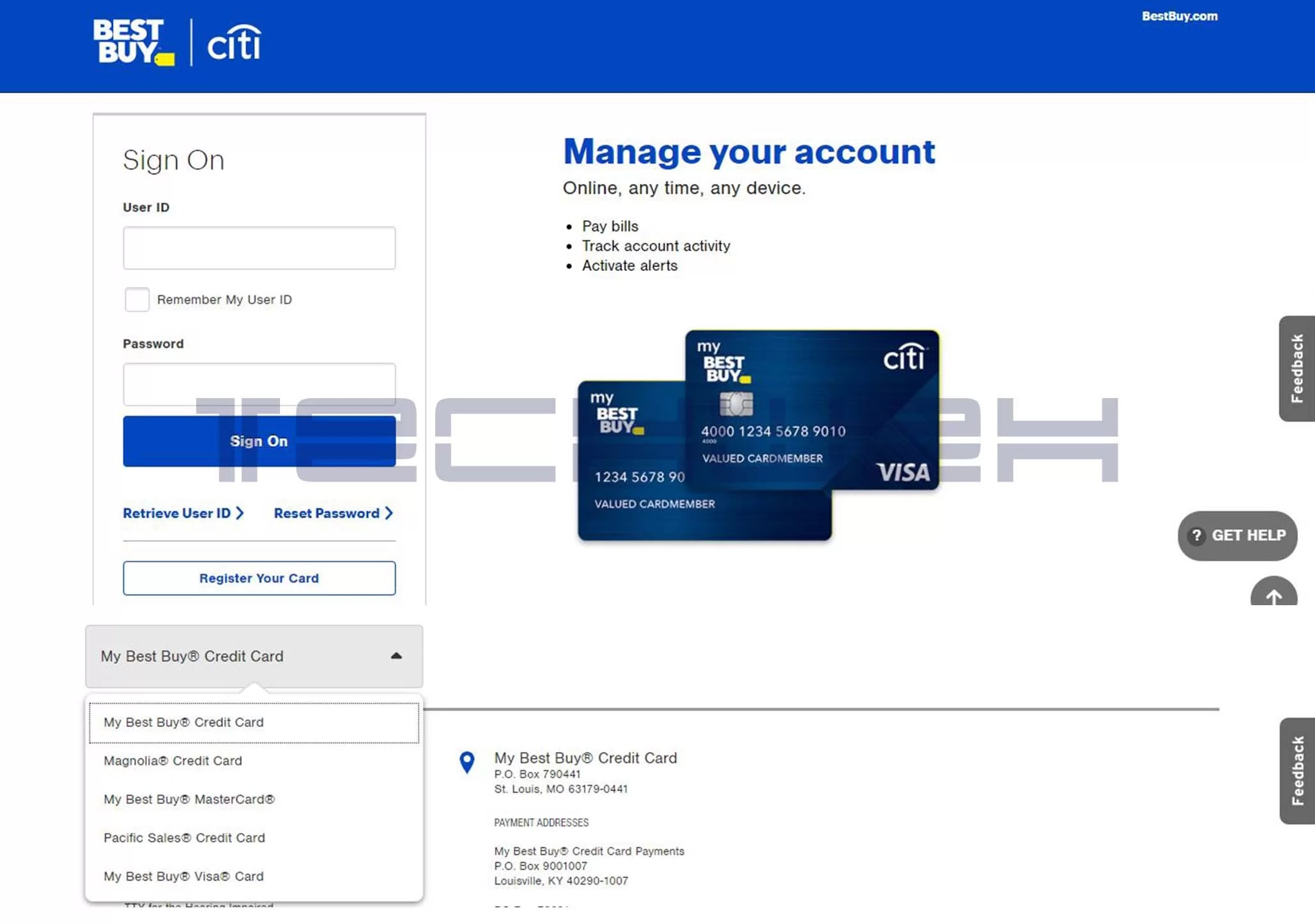 The Complete Beginner's Guide to Best Buy Credit Card Login