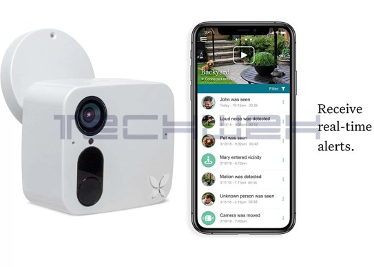 Ooma Smart Cam Indoor/Outdoor Security Camera with Night Vision