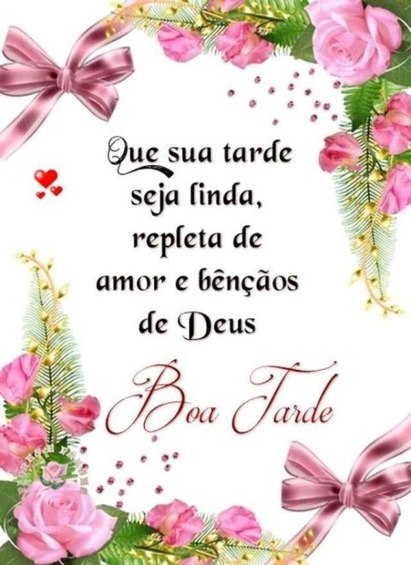 Amor e bênçãos de Deus