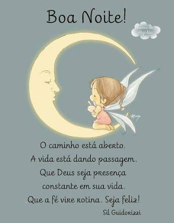 Com muito carinho e amor vim te desejar uma ótima noite!