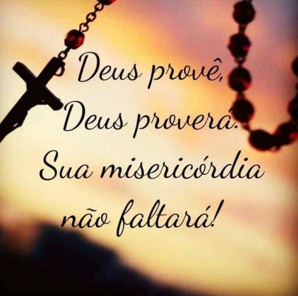 Deus provê, Deus provera. sua misericórdia não faltara! Mensagens whatisapp