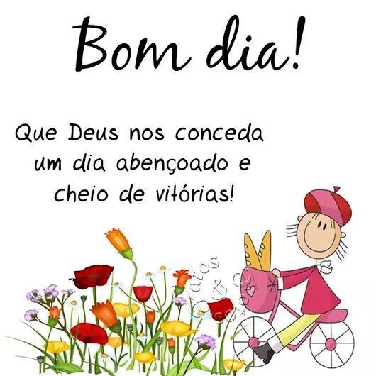 Q ue Deus nos conceda uma dia abençoado e cheio e vitórias!