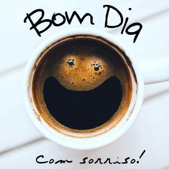 bom dia! com sorriso!