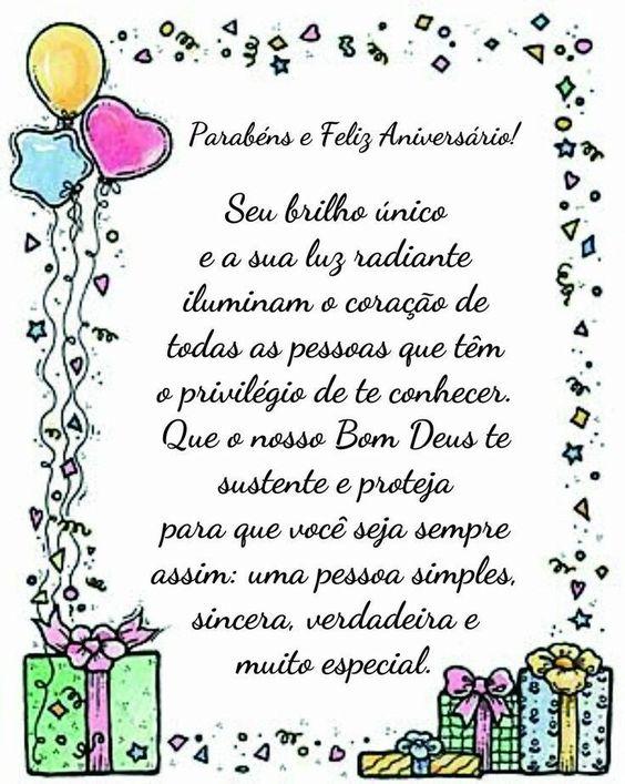 parabéns e feliz aniversário!