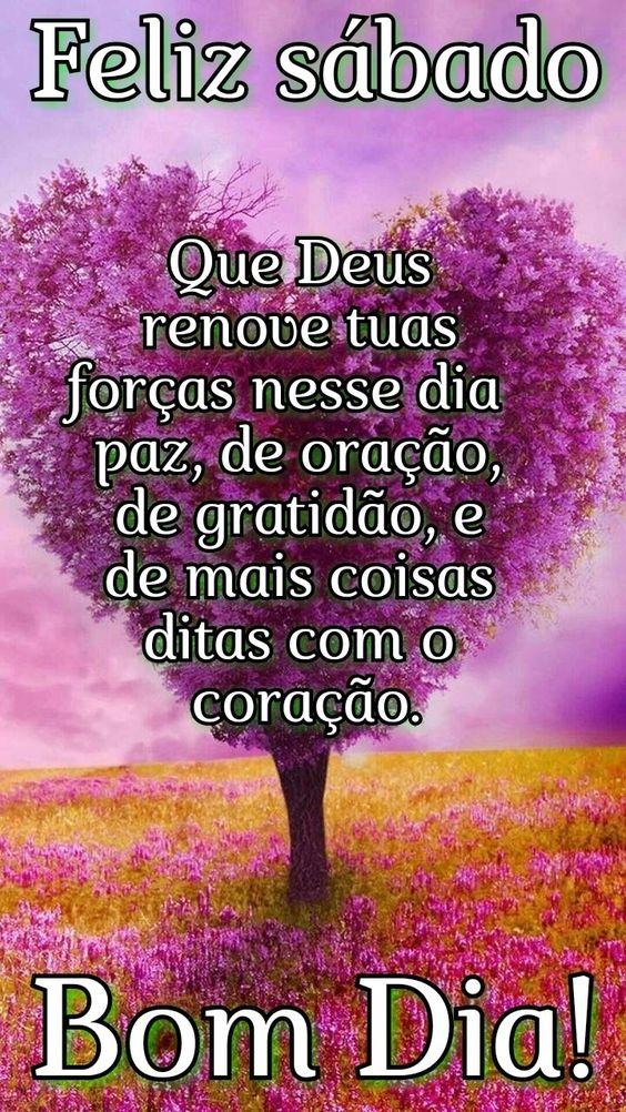 Feliz sábado com Deus