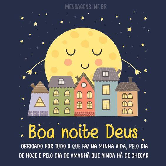 Boa noite Deus