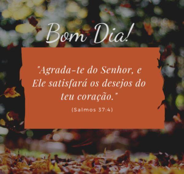 Versículo de Salmo para abençoar sua manhã