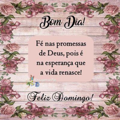 Fé nas promessas de Deus