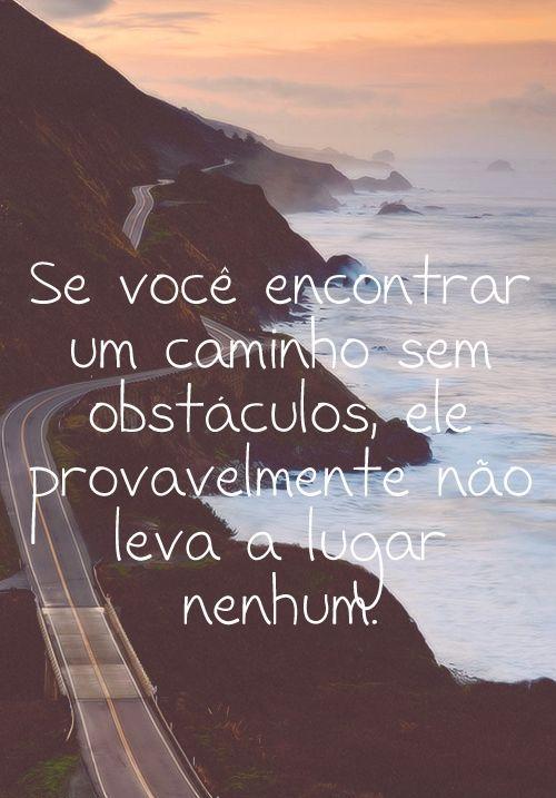Caminho sem obstáculos
