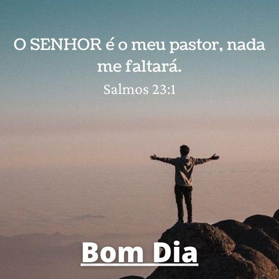 Bom dia com Salmo 23