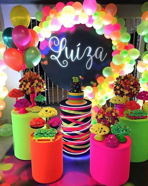 Festa neon linda