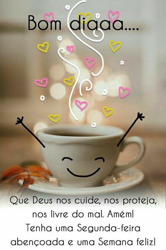 Bom dia com grande alegria