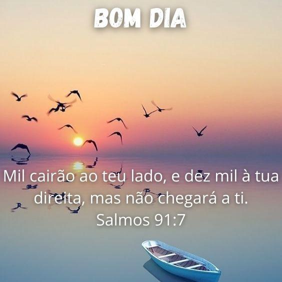 Bom dia Salmos 91:7