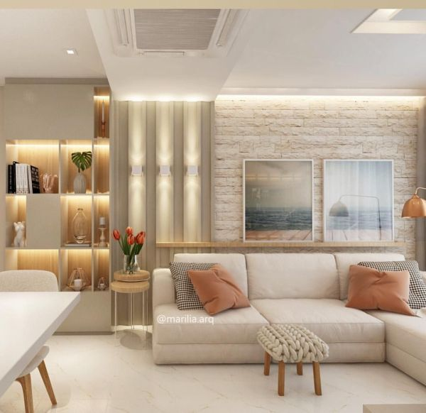 Uma sala perfeita para a sua casa.