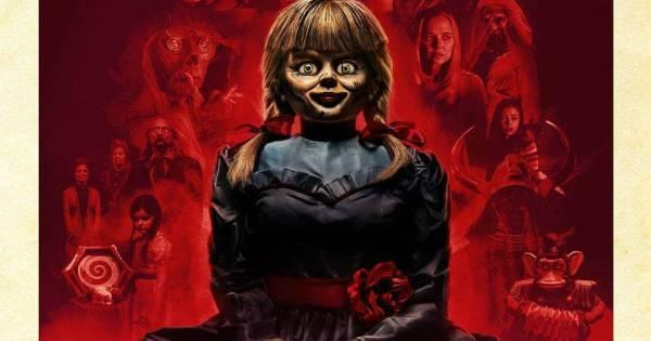 a boneca assustadora