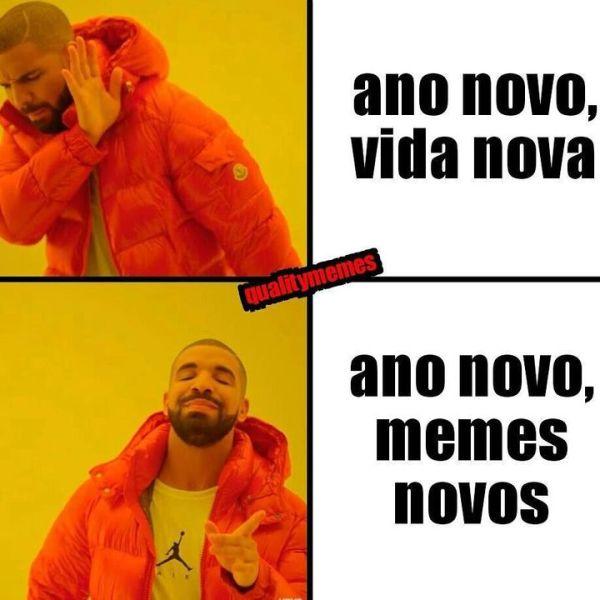Ano novo, memes novos