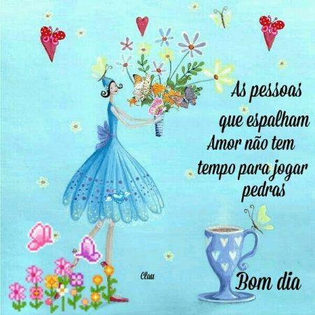 Bom dia, espalhe amor