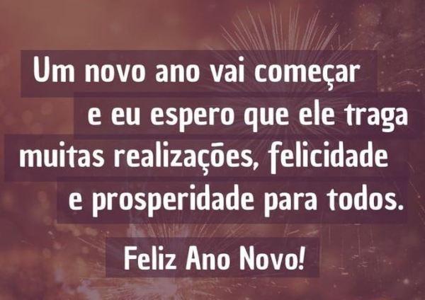 Bom ano novo