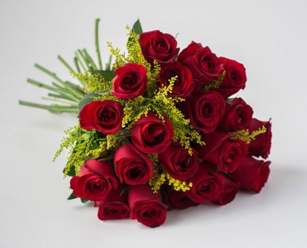 buquê de rosas lindo