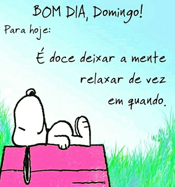 Dia domingo snoopy