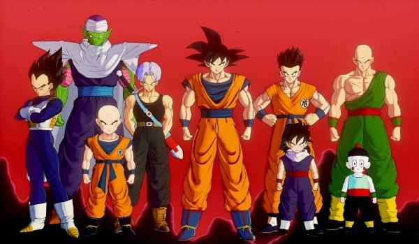 goku e sua equipe