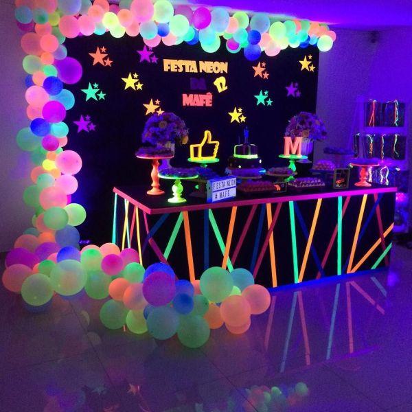 Dica festa neon.